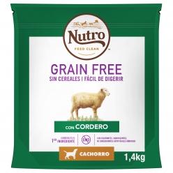 NUTRO PERRO GRAIN FREE JUNIOR MED