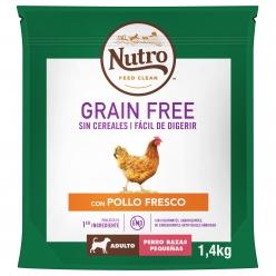 NUTRO PERRO GRAIN FREE ADULT PEQ