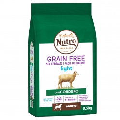 NUTRO PERRO GRAIN FREE LIGHT