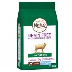 NUTRO PERRO GRAIN FREE ADULT GDE
