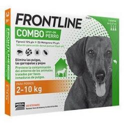 FRONTLINE SPOT ON COMBO PERRO 2- 10  KG